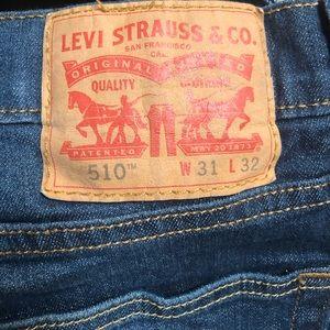 Men's Levi 510 straight leg jeans